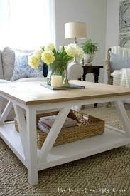 Square Living Room Table by Top 25 Best Farmhouse Coffee Tables Ideas On Pinterest Farm
