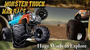 monster truck mad race android apps google play