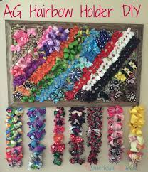 hair bow holder american girl hairbow holder american girl ideas american girl