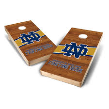 Notre Dame Desk Accessories Notre Dame Fighting 2 X 4 Logo Board Set With