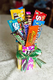 candy basket ideas christmas candy bouquet ideasraparperisydan