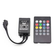 how to power led strip lights amazon com supernight infrared music controller 20 keys ir remote