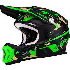 green motocross helmets oneal 7 series camo acu dot lightweight enduro jis mx cross