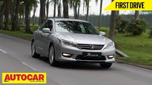 New Honda Civic 2015 India 2015 Honda Accord Exclusive First Drive Video Review Autocar