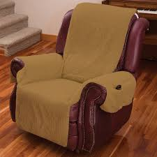 chair cover recliner chair cover one w armrests and pockets