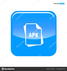 apk file extension apk file format icon stock vector ibrandify 134474992