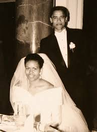 his and wedding barack and obama story marriage in photos