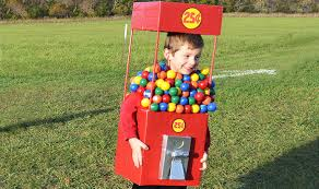 Gumball Costume Halloween Gumball Machine Halloween Costume Inhabitots Green Halloween Contest