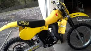 vintage motocross bikes sale 1981 suzuki rm125 vintage mx youtube