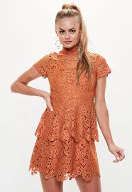 orange dress orange dresses shop orange dresses online missguided