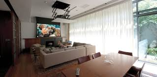 Drop Down Tv From Ceiling by Living Rooms Osbee