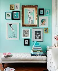 Best  Turquoise Walls Ideas On Pinterest Eclectic Style - Beautiful wall designs for living room