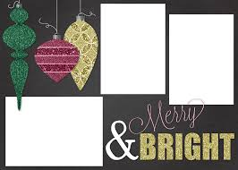free customizable christmas card template a houseful of handmade