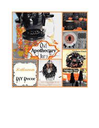 decorating ravishing diy halloween decor inspiration kropyok