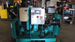 sullivan palatek 15hp rotary air compressor youtube