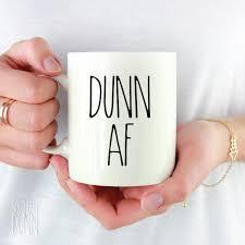rae dunn inspired vinyl dunn af decal for mug custom vinyl decals