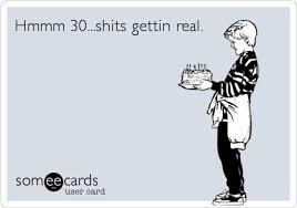 30th Birthday Meme - dirty thirty birthday cards best of 25 unique 30th birthday meme