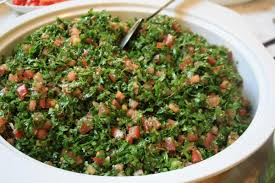 livre de cuisine libanaise recette du taboulé libanais
