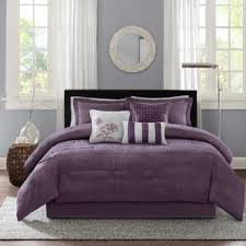 Lavender Comforter Sets Queen Modern Purple Bedding Sets Allmodern