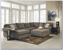 Small Leather Sofa Chair U0026 Sofa Have An Interesting Living Room With Ashley
