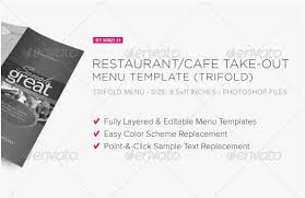 40 best and impressive restaurant menu templates