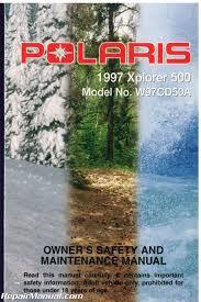 used 1997 polaris xplorer 500 atv owners manual
