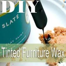 homemade wax for chalked based paints dark wax furniture wax