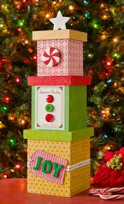 christmas boxes mini diy christmas tree decor from boxes mod podge rocks
