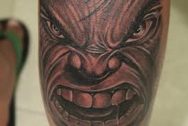 angry hulk tattoo black poison tattoo studio
