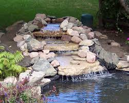 download how to build a backyard pond and waterfall garden design