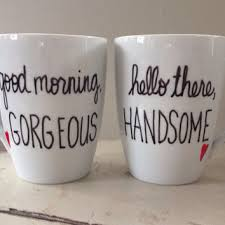 His Hers Mugs Best Good Morning Handsome Mug Products On Wanelo