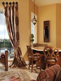 shades of golden amber are perfect tuscan decorating colors