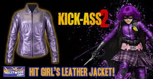 Kickass Halloween Costume Ready Halloween Hit Leather Jacket