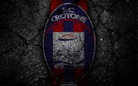 download wallpapers crotone logo art serie a soccer football