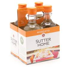 wine delivery boston sutter home moscato 187ml 4 pack wine and liquor