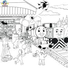 thomas tank engine papercraft train coloring pages printable