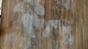 how to remove white heat spots from wood furniture how to remove white hazy spot caused by heat on veneer table