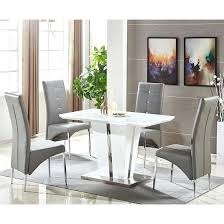 small kitchen table with 4 chairs dining table grey chairs white dining table and grey chairs grey
