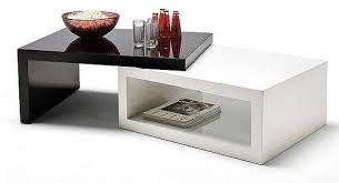 modern black end table contemporary and modern coffee tables