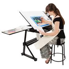 Drafting Drawing Table Artist Table Drafting Drawing Table Soho Jerrysartarama Regarding