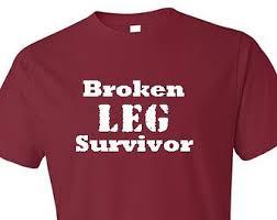 broken leg etsy