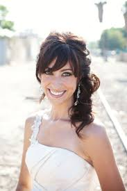 best 20 wedding hair bangs ideas on pinterest u2014no signup required