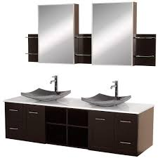 Bathroom Vanities Double Sink 72 by Wyndham Collection Avara 72 In Vanity In Espresso With Double