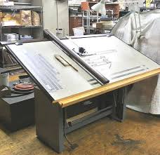 Vemco Drafting Table Used Mayline Desk O Matic Drafting Table W Mechanism Ubb Threads