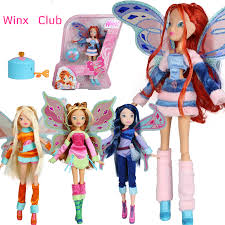 aliexpress buy lovix fairy winx club doll rainbow colorful