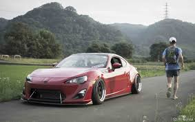 frs scion stance hiroaki san u0027s gt86 rocket bunny in the making
