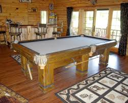 grizzly bear dining room pool tables