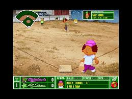 Backyard Baseball 10 Backyard Baseball 1997 Pc Review And Full Download Old Pc Gaming