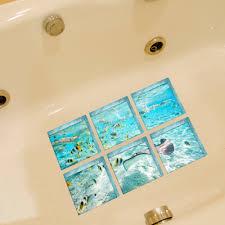 nonslip bathtub floor stickers warrah cuties anti slip bath mat