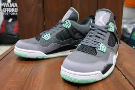 green glow 4 air 4 retro green glow closer look sbd